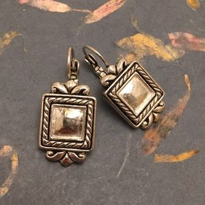 Jewelry - Silver Square Earrings